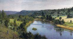 The Oyat River   Vasily Polenov   Oil Painting