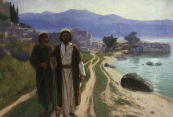 On the Way to Jerusalem | Vasily Polenov | Oil Painting