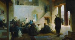 Among the Teachers | Vasily Polenov | Oil Painting