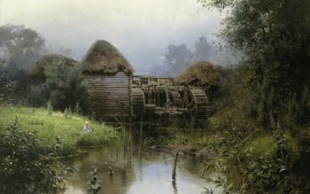 An Old Watermill | Vasily Polenov | Oil Painting