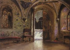The Terem Palace | Vasily Polenov | Oil Painting