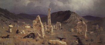 The Dead Soldier | Vasily Polenov | Oil Painting