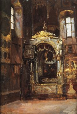 Interior of the Assumption Cathedral | Vasily Polenov | Oil Painting