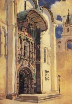 The Southern Entrance to the Assumption Cathedral | Vasily Polenov | Oil Painting