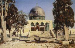 Haram al-Sharif in Jerusalem | Vasily Polenov | Oil Painting