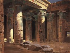 Isis Temple | Vasily Polenov | Oil Painting
