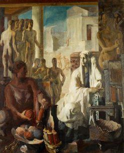 Penelope | Alexander Evgenievich Yakovlev | Oil Painting