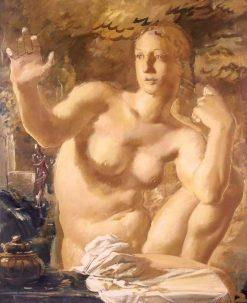 The Bather | Alexander Evgenievich Yakovlev | Oil Painting