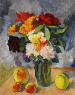 Flowers and Apples | Nikolai Tyrsa | Oil Painting