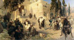 Christ and the Sinner | Vasily Polenov | Oil Painting