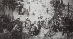 Christ and the Sinner (study) | Vasily Polenov | Oil Painting