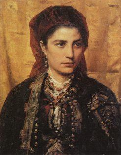 Montenegrin Girl | Vasily Polenov | Oil Painting
