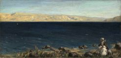 Christ by the Sea of Galilee | Vasily Polenov | Oil Painting