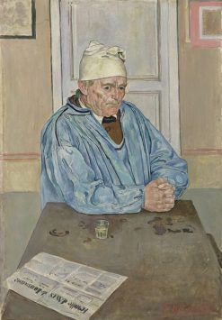 Portrait of Emile Borgeaud | Ferdinand Hodler | Oil Painting