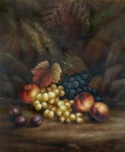 Still Life of Fruit | Edwin Steele | Oil Painting