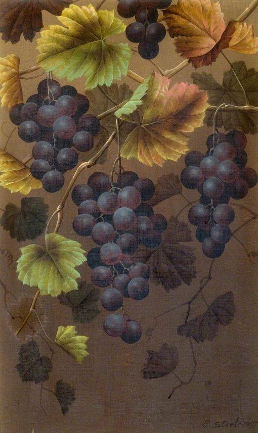 Still Life of Fruit   Edwin Steele   Oil Painting