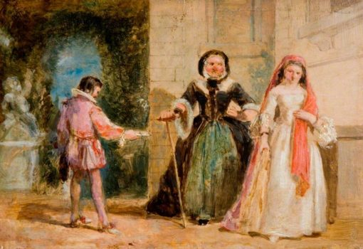 A Scene from Shakespeare | William Knight Keeling | Oil Painting
