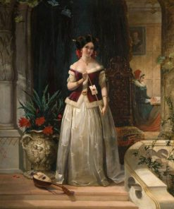 Loves Messenger | William Knight Keeling | Oil Painting