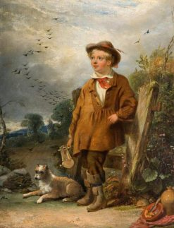 The Bird Scarer | William Knight Keeling | Oil Painting