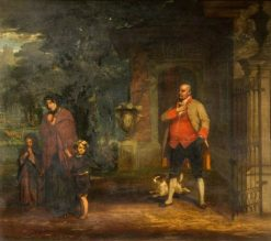 The Rejected Appeal | William Knight Keeling | Oil Painting