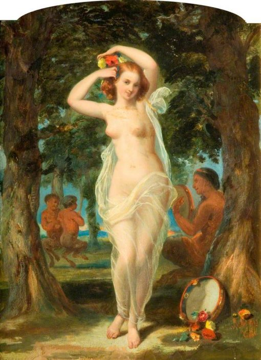 The Wood Nymph | William Knight Keeling | Oil Painting