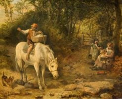 The Watering Place | William Knight Keeling | Oil Painting