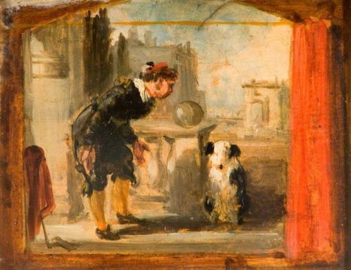The Showman   William Knight Keeling   Oil Painting