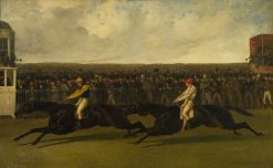 The Flying Dutchman and Voltigeur Running at York