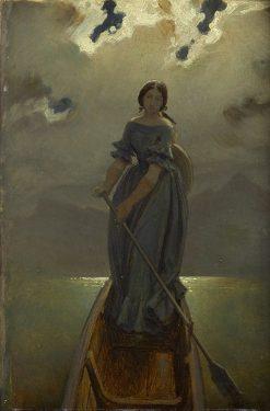 Die Schifferin | Moritz von Schwind | Oil Painting