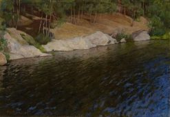 Riverside | Pekka Halonen | Oil Painting