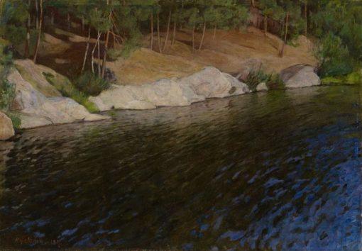 Riverside | Pekka Halonen | Oil Painting