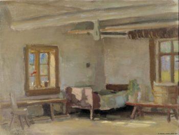 Interior | Eero Jarnefelt | Oil Painting