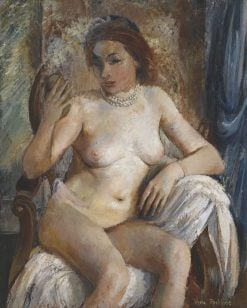Nude with Mirror | Vera Rockline | Oil Painting