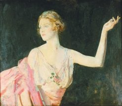 Lady Diana Cooper | Ambrose McEvoy | Oil Painting