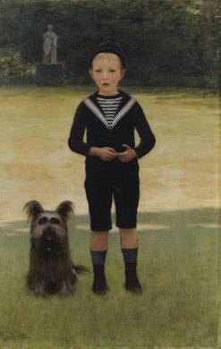 Portait of a Child in Sailor Costume | Bernard de Monvel | Oil Painting