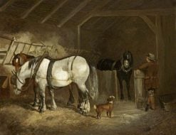 A Stable Interior | John Frederick Herring