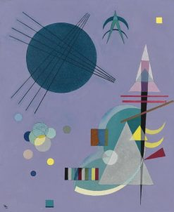 Violet-Green | Wassily Kandinsky | Oil Painting