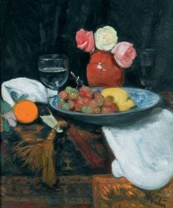 Still Life with Roses and Fruit | George Leslie Hunter | Oil Painting