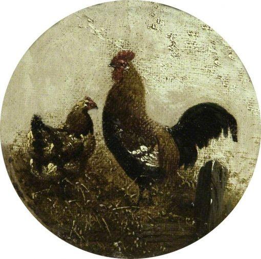 Cock and Hen | John Frederick Herring