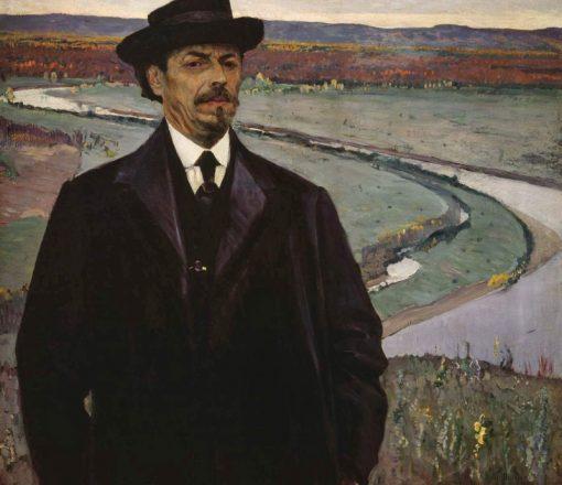 Self Portrait | Mikhail Vasilevich Nesterov | Oil Painting