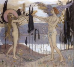 Adam and Eve | Mikhail Vasilevich Nesterov | Oil Painting