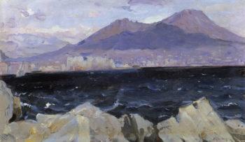 The Adriatic Sea | Mikhail Vasilevich Nesterov | Oil Painting