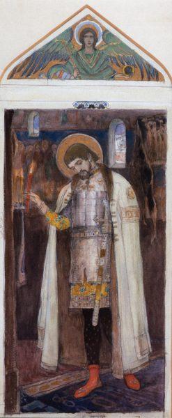 Alexander Nevsky | Mikhail Vasilevich Nesterov | Oil Painting