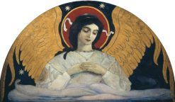 The Angel of Sorrow | Mikhail Vasilevich Nesterov | Oil Painting