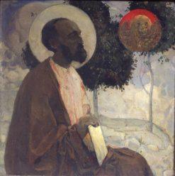 St. Mark | Mikhail Vasilevich Nesterov | Oil Painting