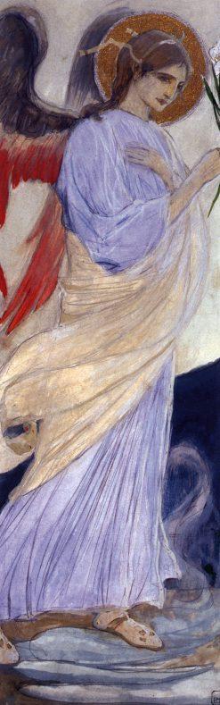 Archangel Gabriel | Mikhail Vasilevich Nesterov | Oil Painting