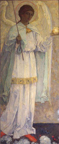 Archangel Michael | Mikhail Vasilevich Nesterov | Oil Painting