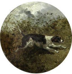 Hound in a Landscape | John Frederick Herring
