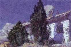 Bachisarai | Mikhail Vasilevich Nesterov | Oil Painting