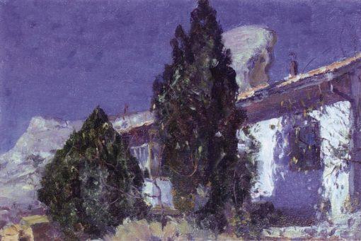 Bachisarai   Mikhail Vasilevich Nesterov   Oil Painting